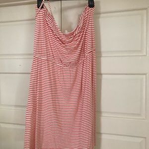 J crew knit striped dress